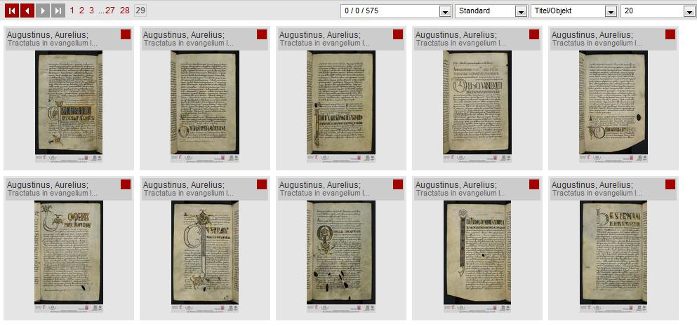 Bibliotheca Laureshamensis – digital » Decoration: Cataloguing in ...